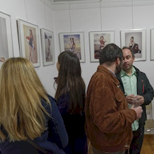 'Pin-up Girls!' Exhibition Opening