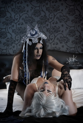 Ailiroy and Yvaine Dazzling's League Of Legends Kindred, Boudoir version, 2017